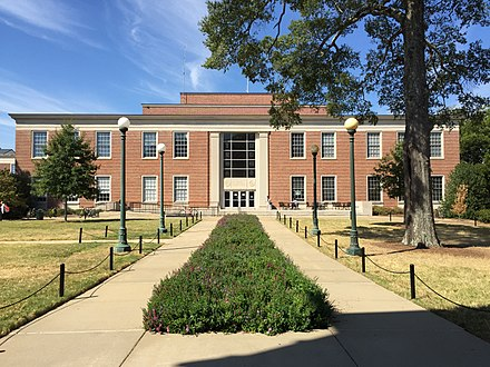 The University of Mississippi Library University of Mississippi's Library 2016.jpg
