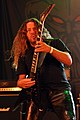 Unleashed, Fredrik Folkare at Party.San Metal Open Air 2013 04.jpg