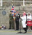 Unveiling plaque World War II evacuees Jersey 2013 16.jpg