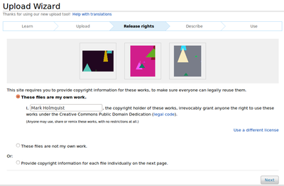 Upload Wizard screenshot (release rights).png