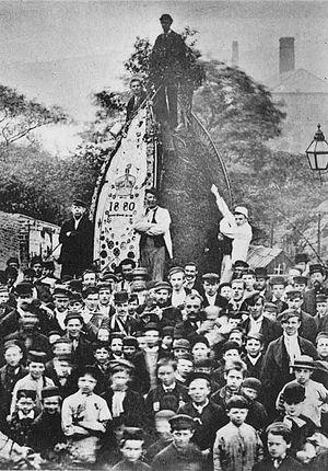 Rushbearing - Uppermill rushbearing 1880
