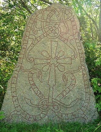 Balle (runemaster) - U 873 in Örsunda was signed by Balle.