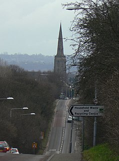 Gedling Village in Nottinghamshire