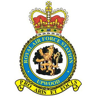 RAF Upwood - RAF Upwood station badge