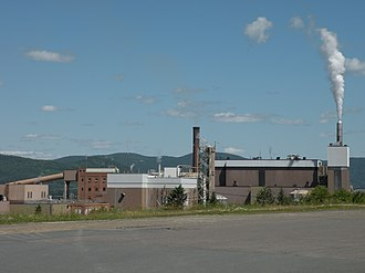Atholville, New Brunswick - Image: Usine Av Cell Atholville