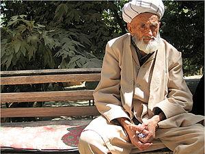 Uzbeks - Image: Uzbek man from central Uzbekistan