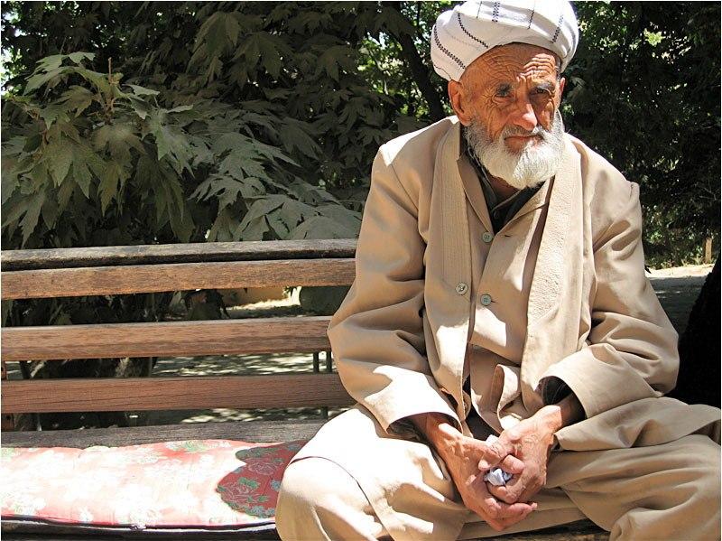 Uzbek man from central Uzbekistan