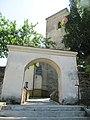 Vítkov, hřbitovní kostel, brána.JPG