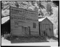 VIEW OF FRONT, FACING SOUTHWEST - Aspen Lumber Company Building, 100 West Cooper Street, Aspen, Pitkin County, CO HABS COLO,49-ASP,2-7.tif