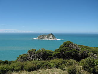 East Island / Whangaokeno - View of East Island from East Cape
