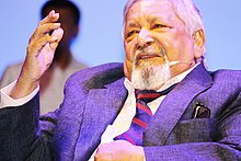 VS Naipaul in Dhaka in 2016