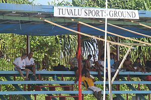 The stadium from Tuvalu.