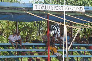 Tuvalu Sports Ground - The stadium from Tuvalu.