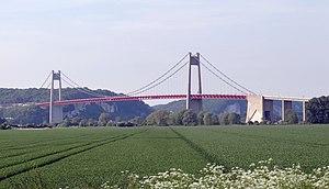 A131 autoroute - The Pont de Tancarville