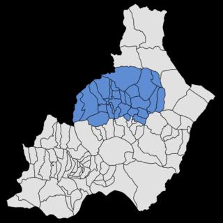 Almanzora (comarca) Comarca in Andalusia, Spain