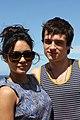 Vanessa Hudgens and Josh Hutcherson (6718744691).jpg