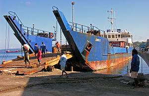 Fishing in Vanuatu - Ferries in Vanuatu