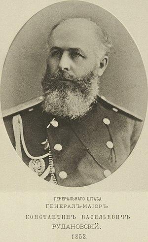 Konstantin Rudanovsky - Konstantin Vasilyevich Rudanovsky,1853