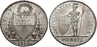 Vaud franc