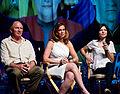 Vaughn Armstron Chase Masterson Nicole de Boer Star Trek Convention Las Vegas 20110812 2.jpg