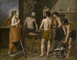 Diego Velázquez: Apollo in the Forge of Vulcan