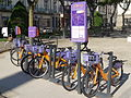 Velocea station in front of the town hall (Vannes).JPG