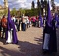 Venerable Hermandad del Santísimo Cristo de la Lanzada y María Santísima de la Caridad, Granda, Semana Santa 2009 (2).JPG