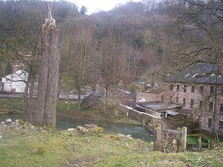 Via Gellia human settlement in United Kingdom