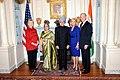 Vice-President Biden, Secretary Clinton Co-Host Social Lunch in Honor of Indian Prime Minister (4373961494).jpg