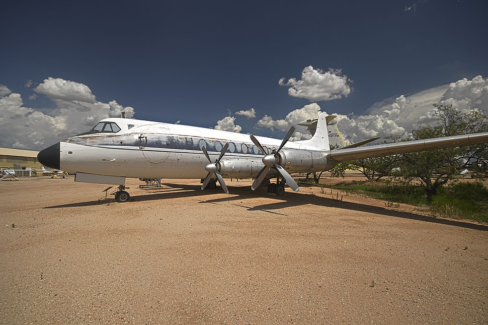 Vickers Viscount at the Pima Air %26 Space Museum, Tucson, Arizona, USA