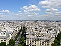 View from Arc de Triomphe 18 2012-07-02.jpg