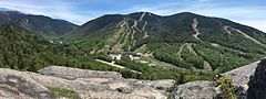 Cannon Mountain as seen from the top of the Bald Mountain