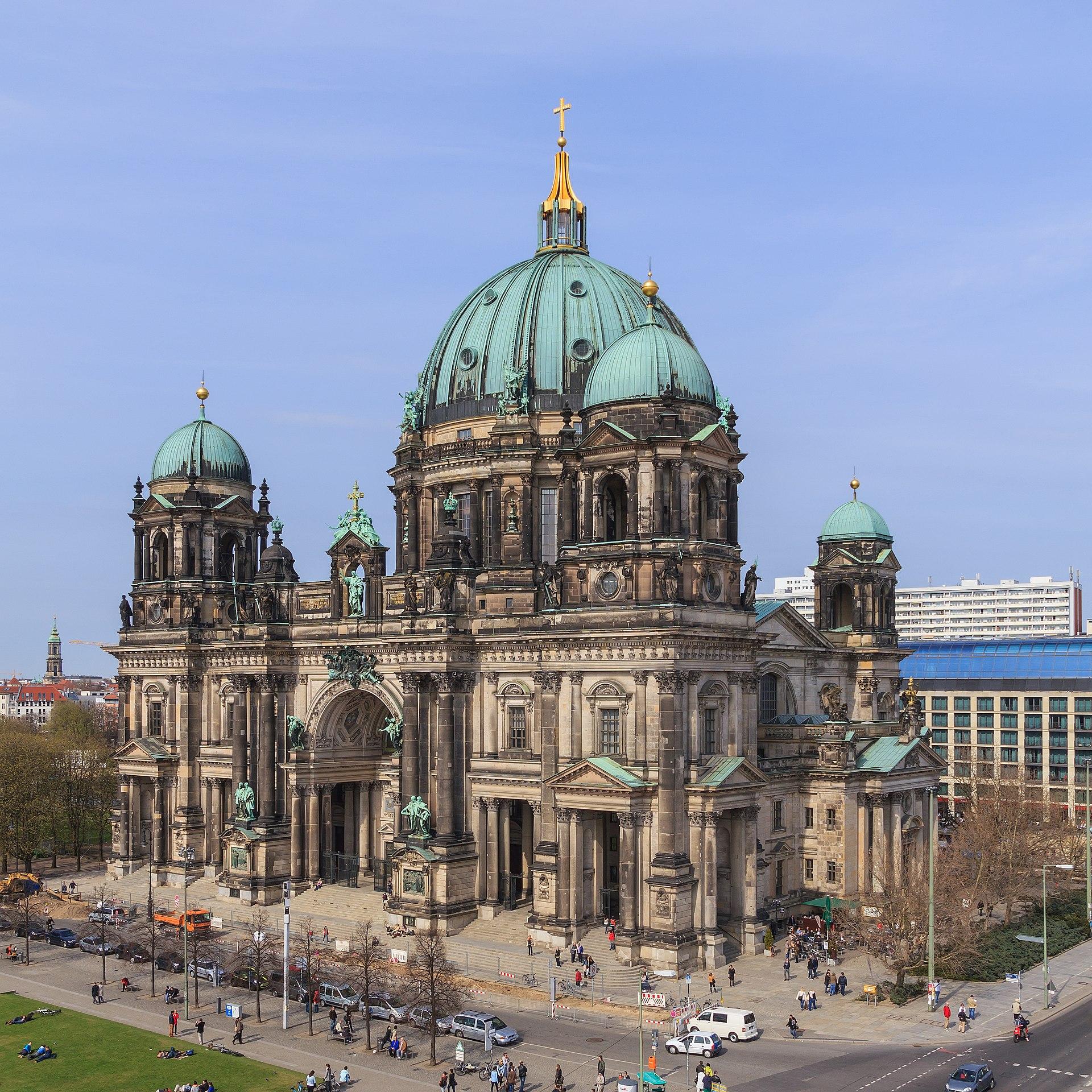 Berliner Dom Schüsse