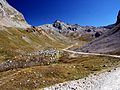 View from the road to the Colle Sommeiller (4963328360).jpg
