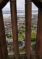 View from the tower of Liverpool Anglican Cathedral, England 2012-07-25 (7881867650).jpg