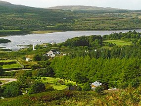 View of Dervaig from scenic overlook - geograph.org.uk - 718397.jpg