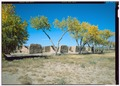 View of Hospital from southeast - Fort Selden, Fort Selden Road, Radium Springs, Dona Ana County, NM HABS nm-211-8 (CT).tif