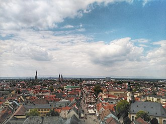 Speyer - View of Speyer from its cathedral