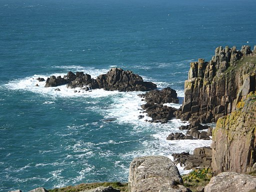 View of cliffs at Lands End, Cornwall (2175675086)