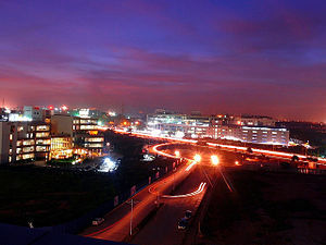 Outer Ring Road, Bangalore - Image: View of outer ring road, Bangalore