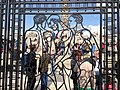 Vigeland Sculpture Park, Norway. Even the gate is so characteristic.jpg