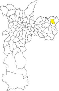 Vila Curuçá District of São Paulo, Brazil