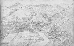 Gongo Soco - The village in 1839
