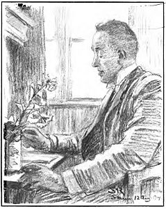 Vilhelm Andersen - Drawing by Peder Severin Krøyer 1904.jpg
