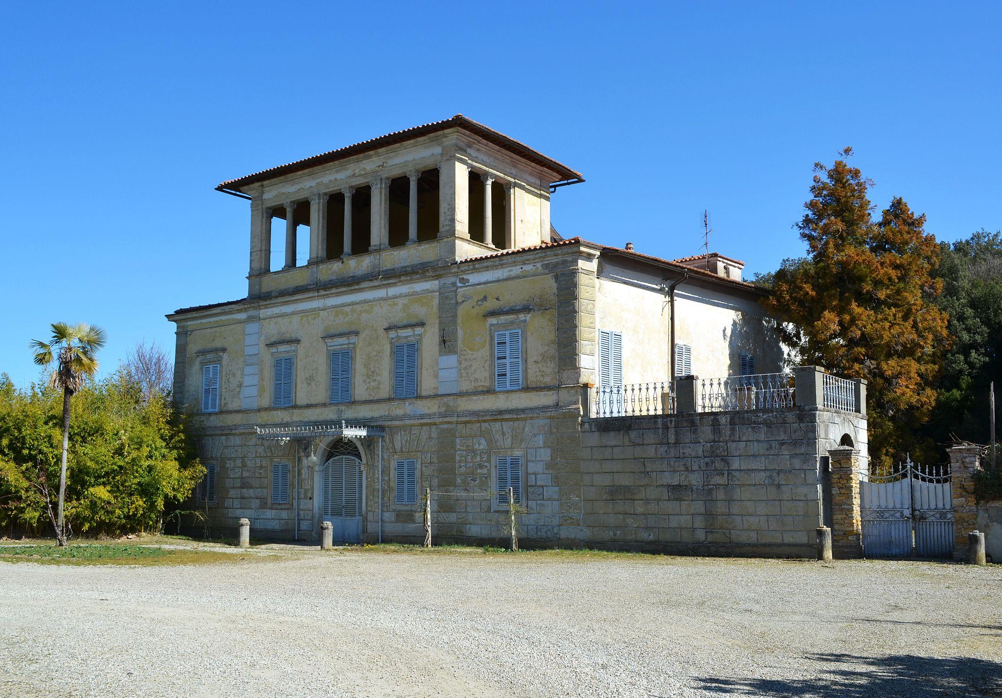 Villa Avanzati (San Giovanni a Cerreto, Castelnuovo Berardenga)