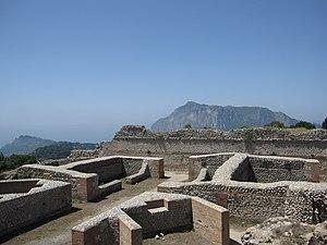 History of Capri - Ruins of Villa Jovis