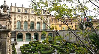 Historical Archives of the European Union - Historical Archives of the European Union headquarters at Villa Salviati, Florence (Italy) April 2015