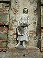 Villa reale di marlia, villa del vescovo, giardino all'italiana, statua 01.JPG