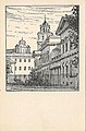 Vilnia, Pałacavy-Ŭniversyteckaja. Вільня, Палацавы-Ўнівэрсытэцкая (F. Krause, 1915-18).jpg