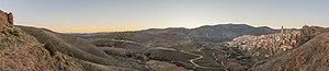 Vista de Moros, Zaragoza, España, 2015-01-05, DD 04-18 HDR PAN.JPG